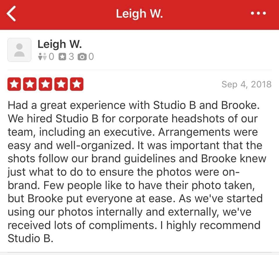 Five Star Review from Leigh at    Philips Healthcare