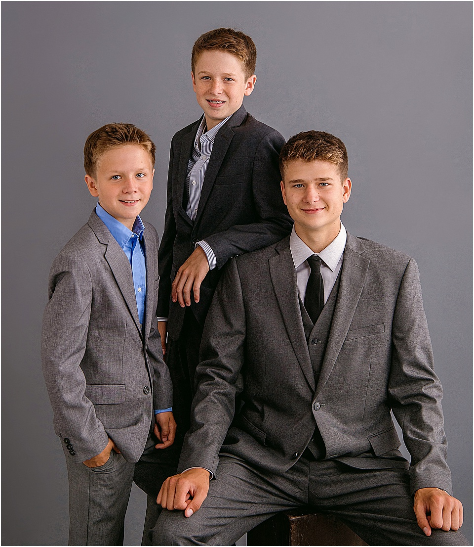 Ready to schedule portraits for your fellas? - Let's do this!