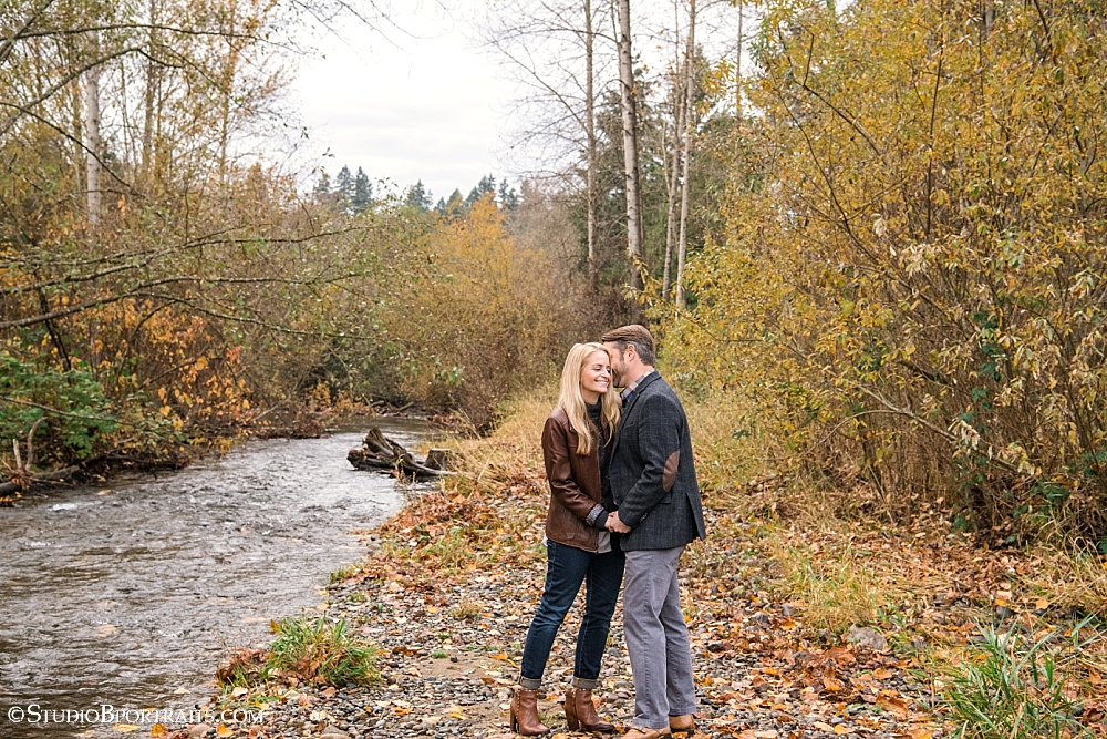 The sweetest couple for    StudioBportraits.com    | Bellevue WA