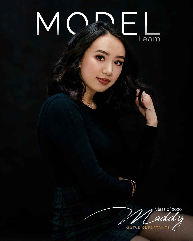 Maddy | Class of 2020 Model Team for Studio B Seniors | pc:    StudioBportraits.com