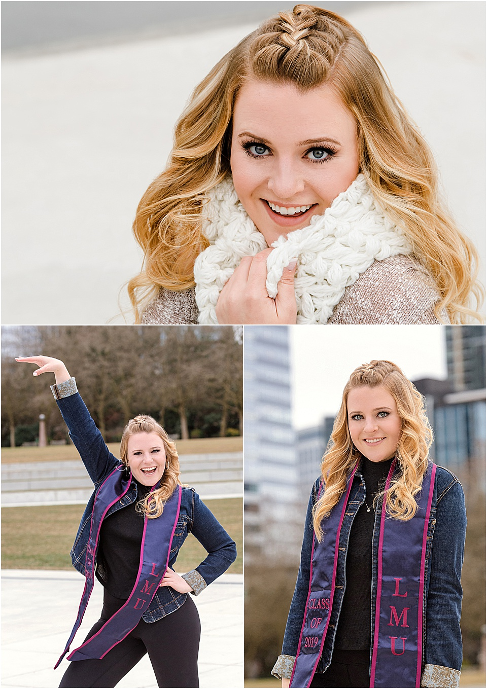 College graduation photos in    Bellevue Park    | pc:    StudioBportraits.com     (Fun Fact: We photographed Sabrina's high school senior pictures 4 years ago!)