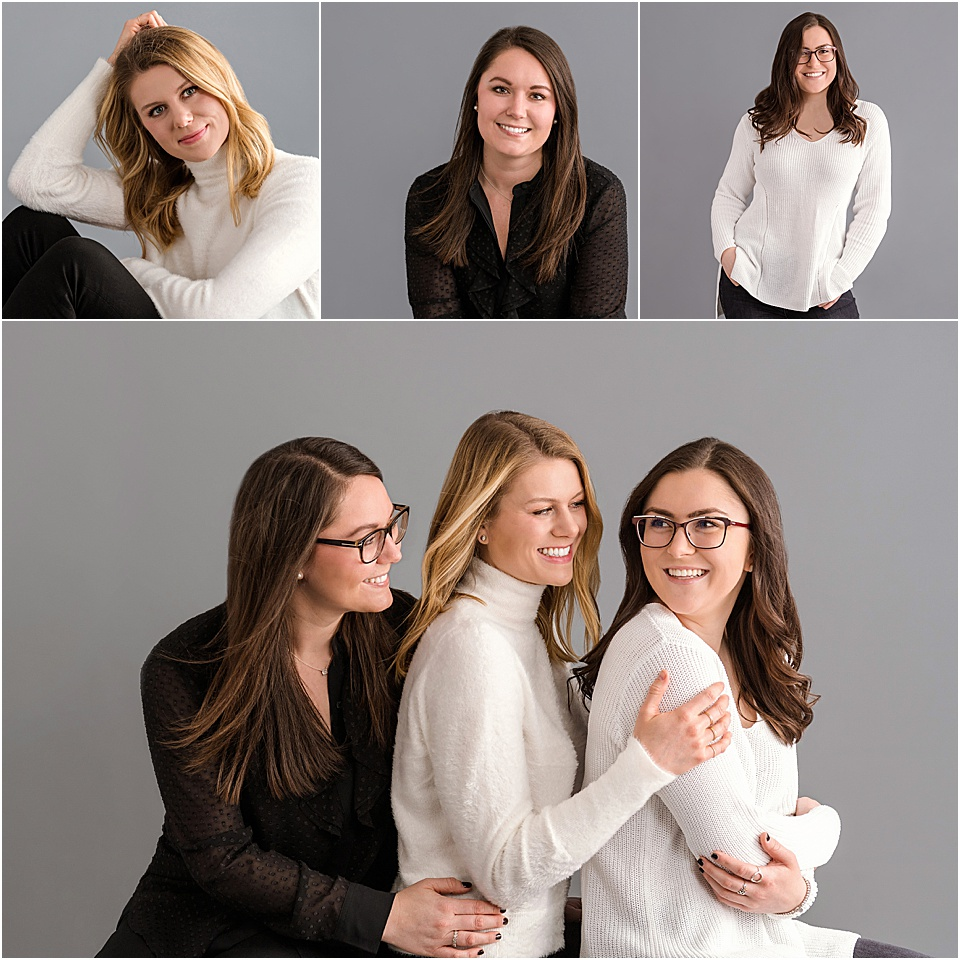 Beautiful contemporary portrait of the Midgley sisters | pc:  StudioBportraits.com