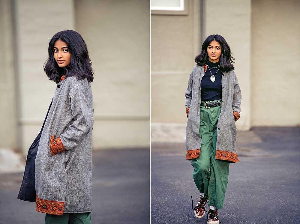 Street style has never looked so chic Miss Rishika