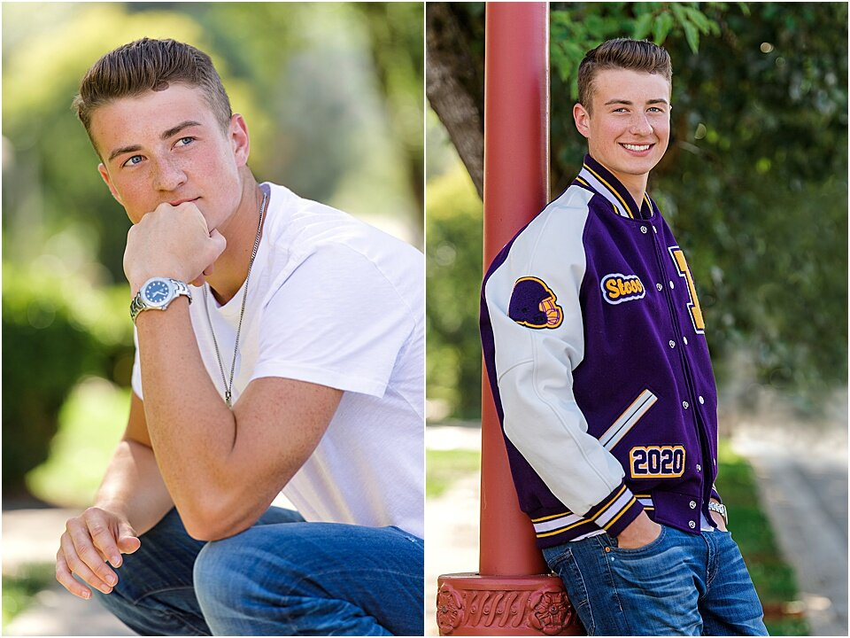 Whether you go formal or casual, bringing your sport into the picture will make you feel like a million bucks!