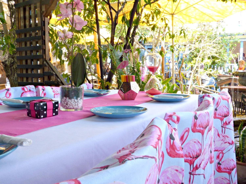 Flamingo themed party