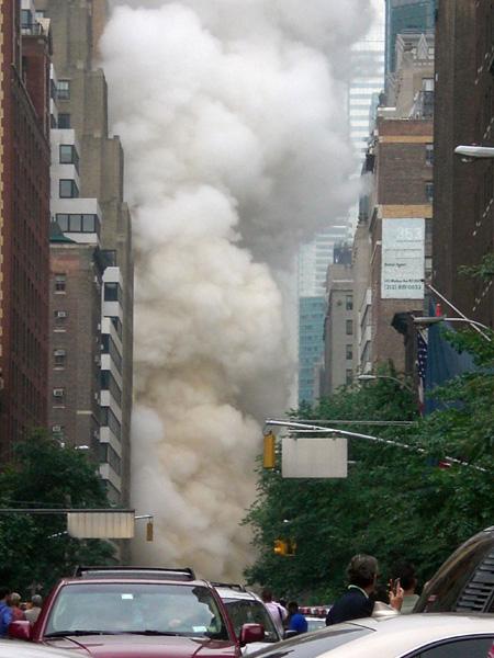 Steampipe explosion in Manhattan
