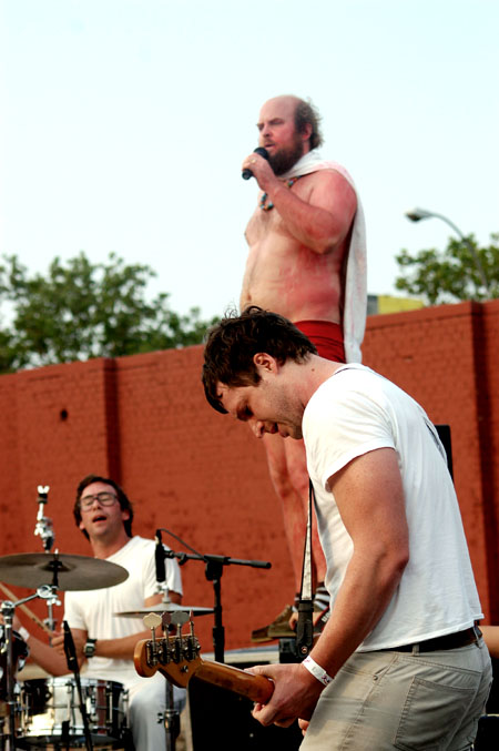 Les Savy Fav at McCarren Park Pool