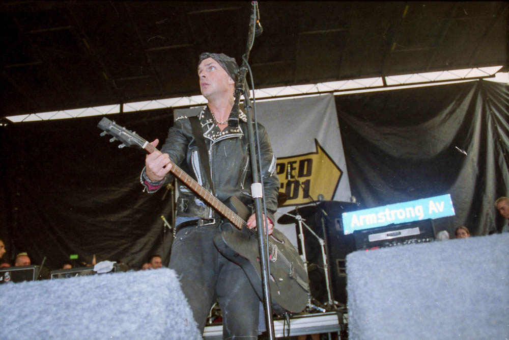 Rancid at Warped Tour 2001