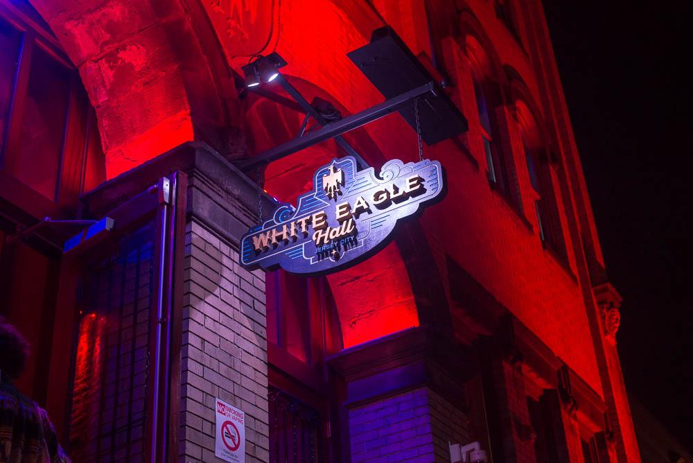 White Eagle Hall sign