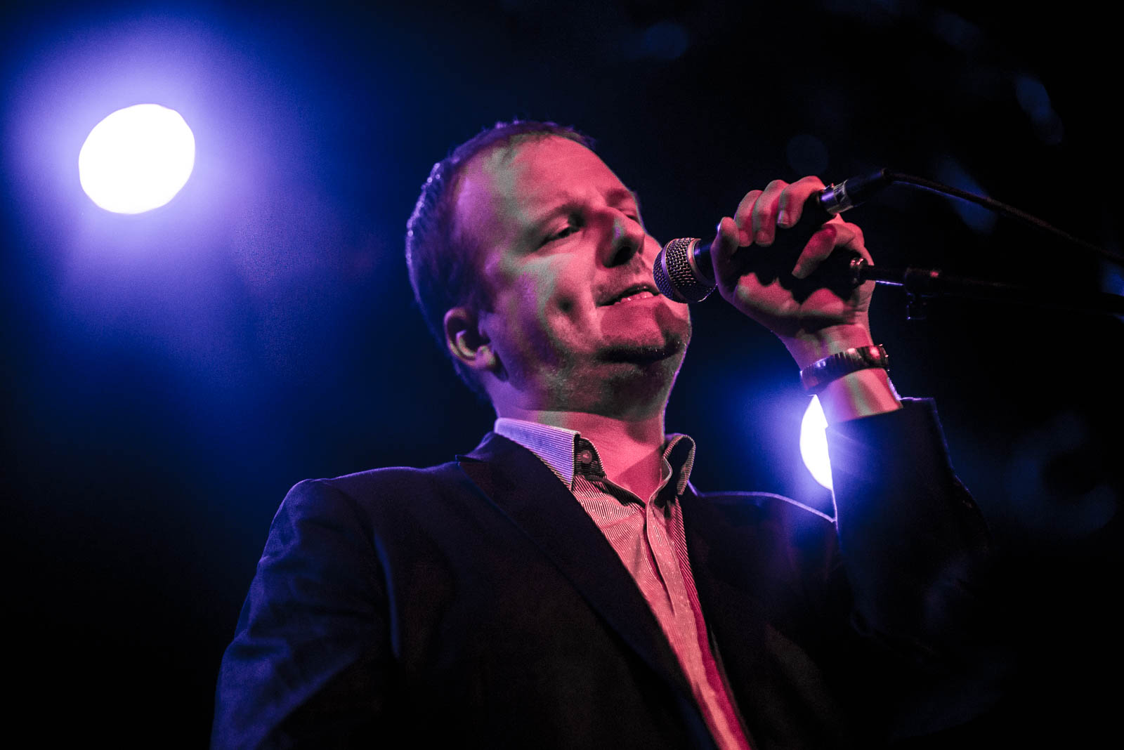 Protomartyr at Music Hall of Williamsburg on Saturday, October 28, 2017.