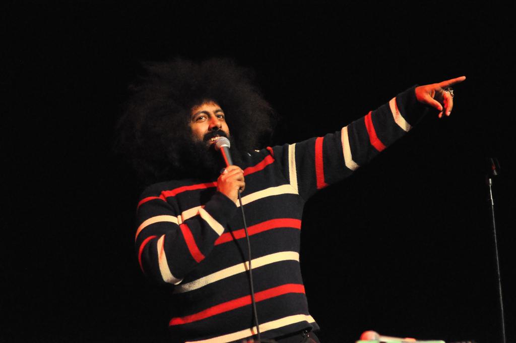 Reggie Watts at Music Hall of Williamsburg