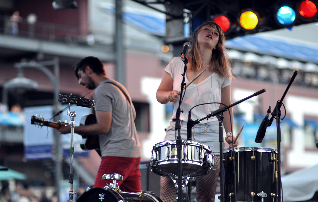 Slow Club at South Street Seaport