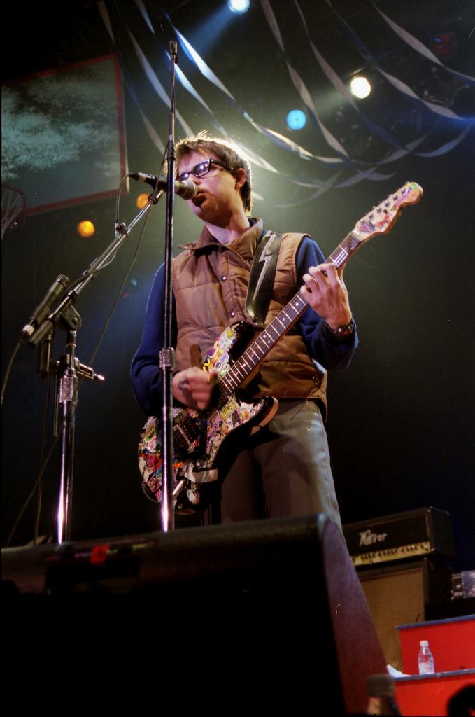 Weezer at Roseland Ballroom in New York, NY.