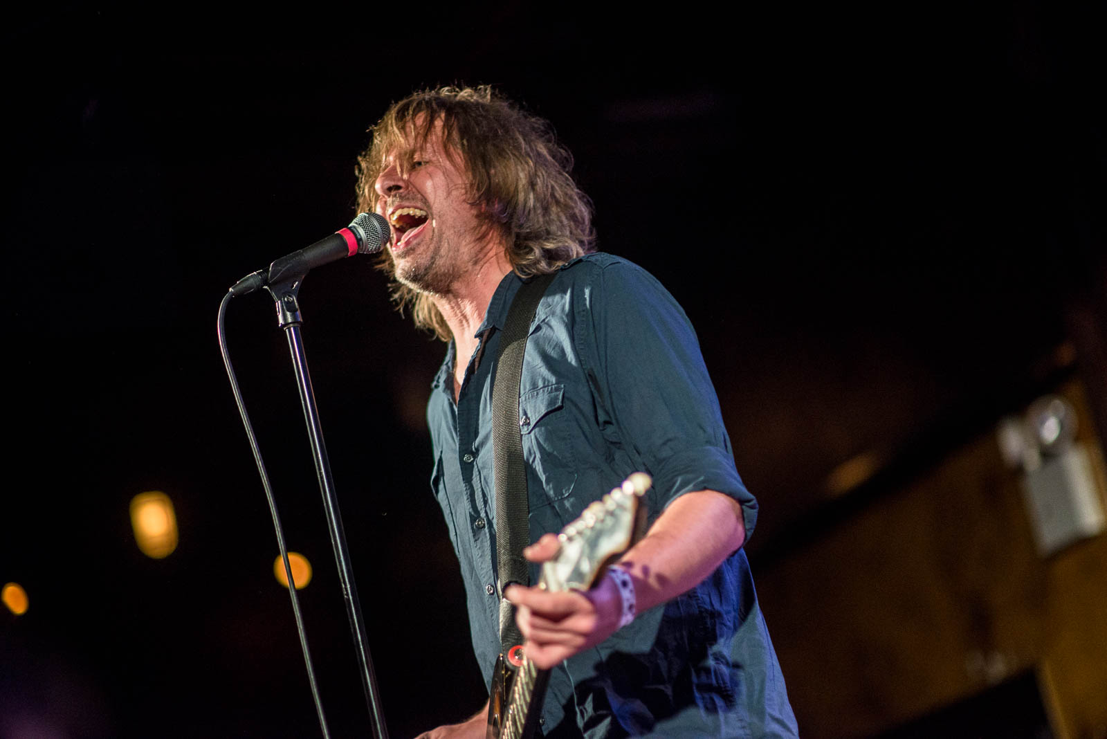 Hot Snakes at The Bell House on November 16, 2017.
