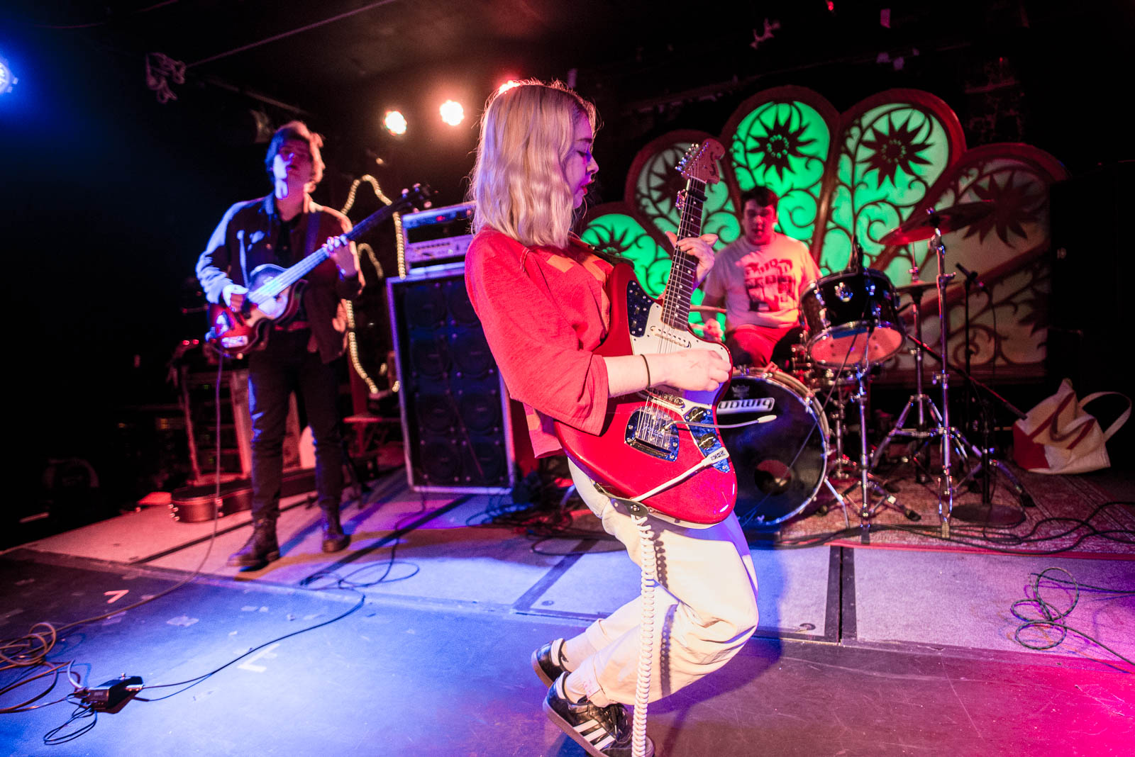 Snail Mail at Brooklyn Bazaar on Friday, January 26, 2018.