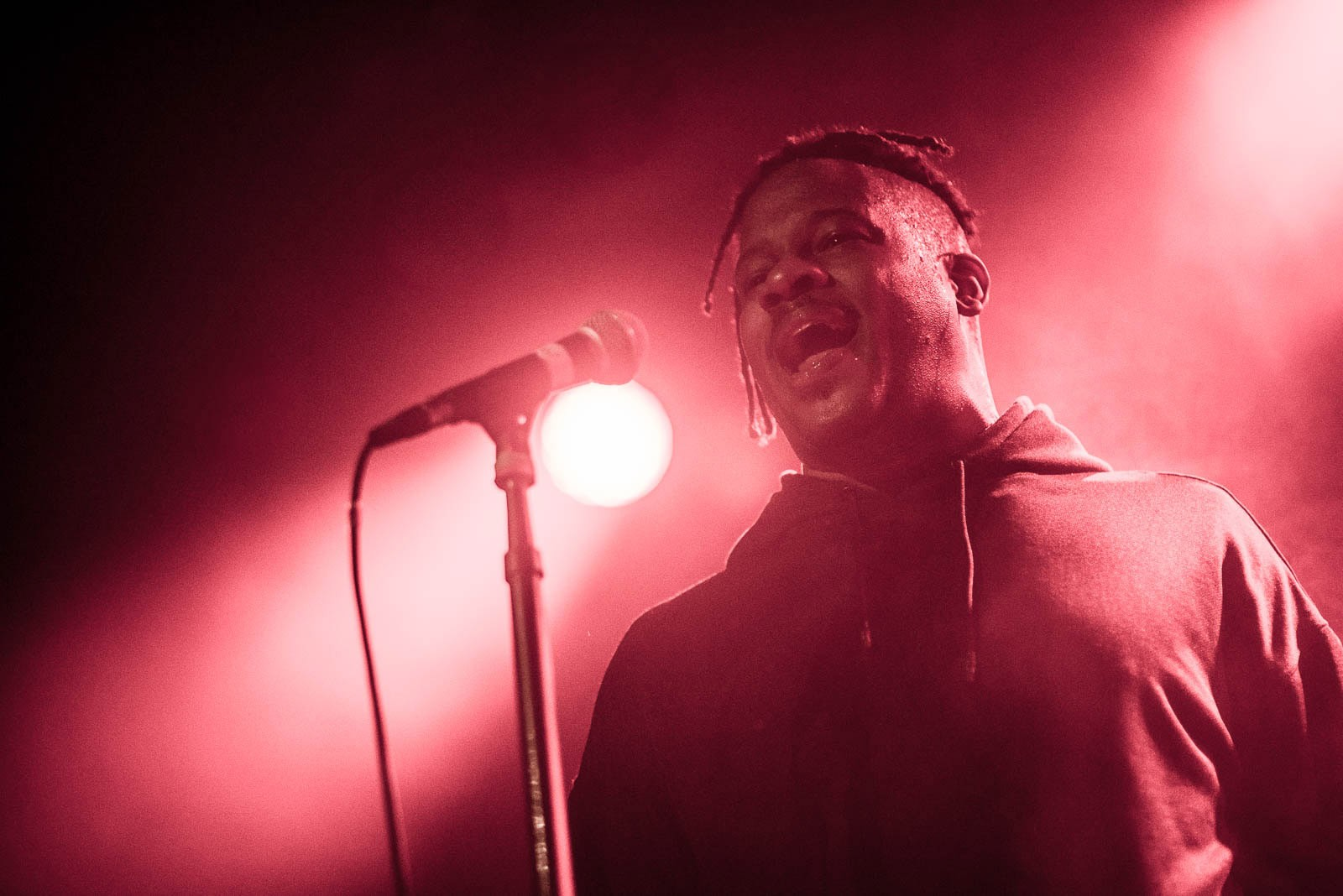 Open Mike Eagle at Music Hall of Williamsburg on Monday, February 5, 2018.