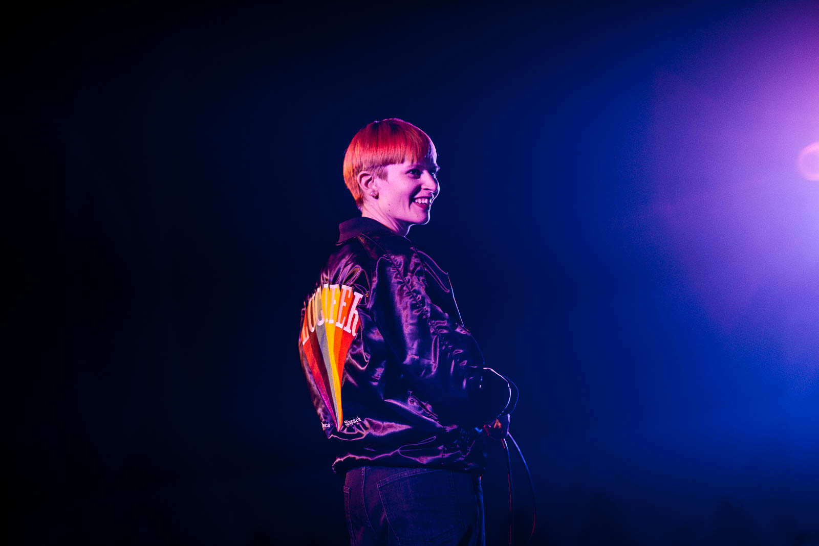 Jenny Hval at MoMA PS1 on Saturday, March 17, 2018.