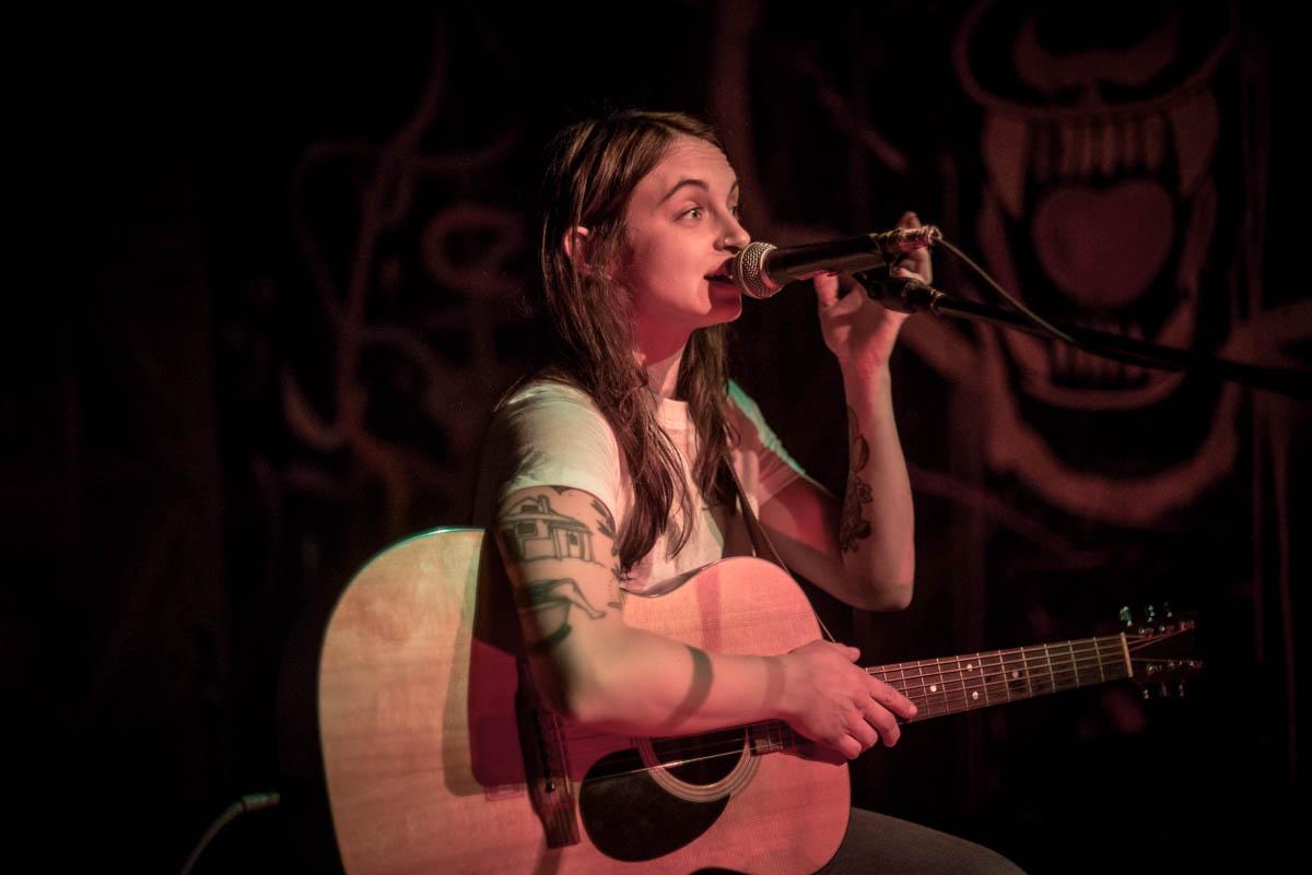 Anika Pyle at Silent Barn