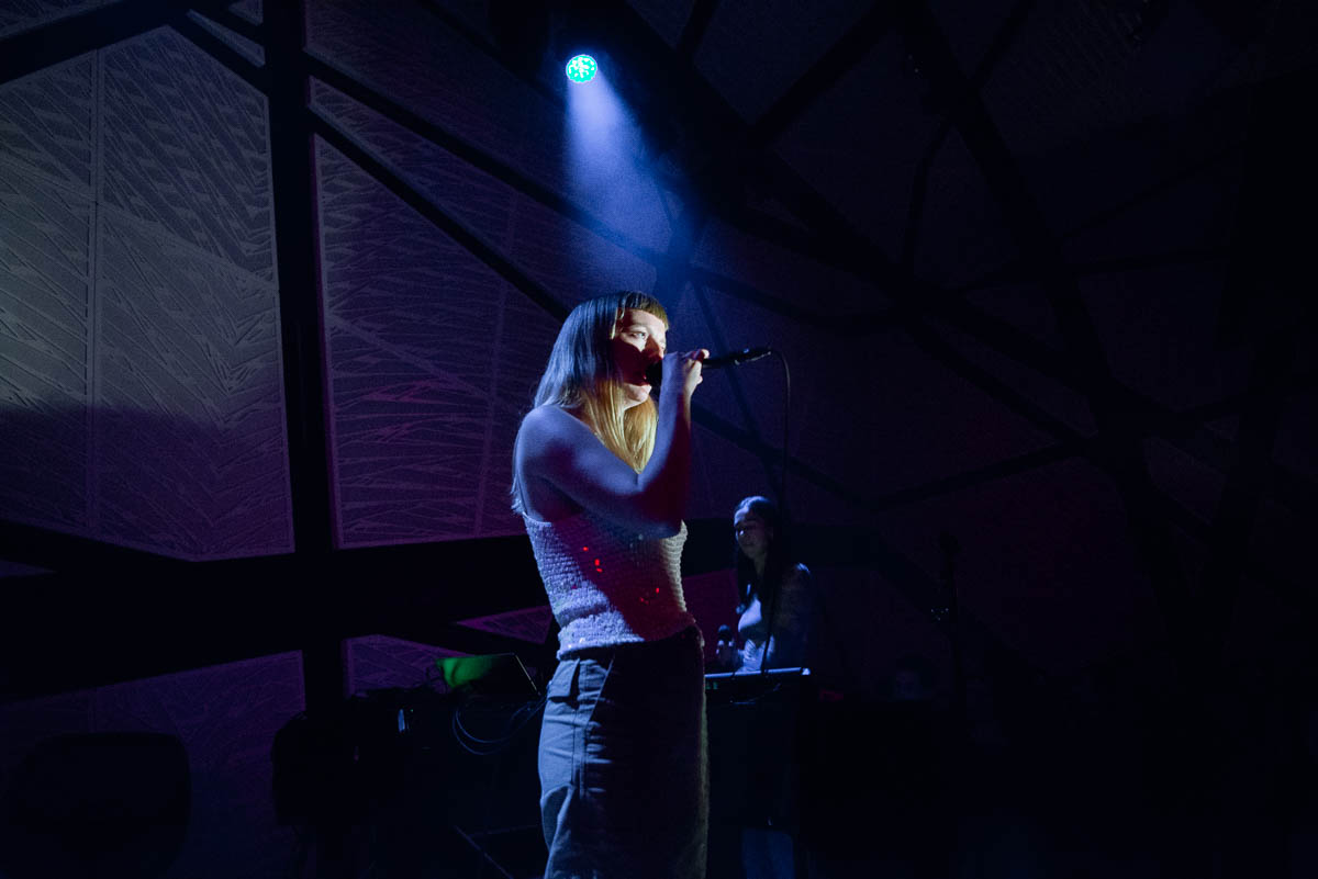 Smerz at National Sawdust on Friday, May 11, 2018.
