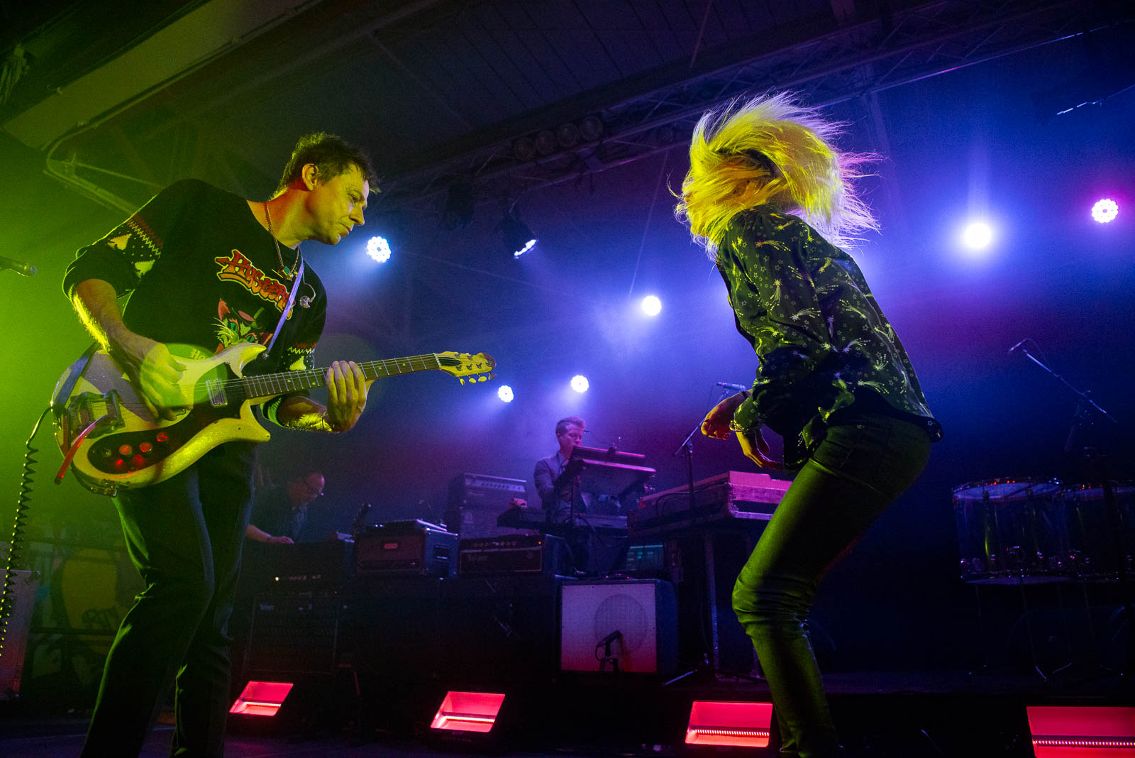 The Kills at House of Vans on Friday, May 18, 2018.