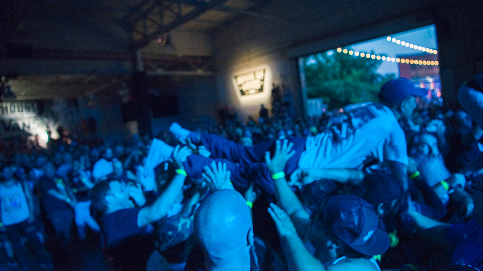During Killing Time at House of Vans