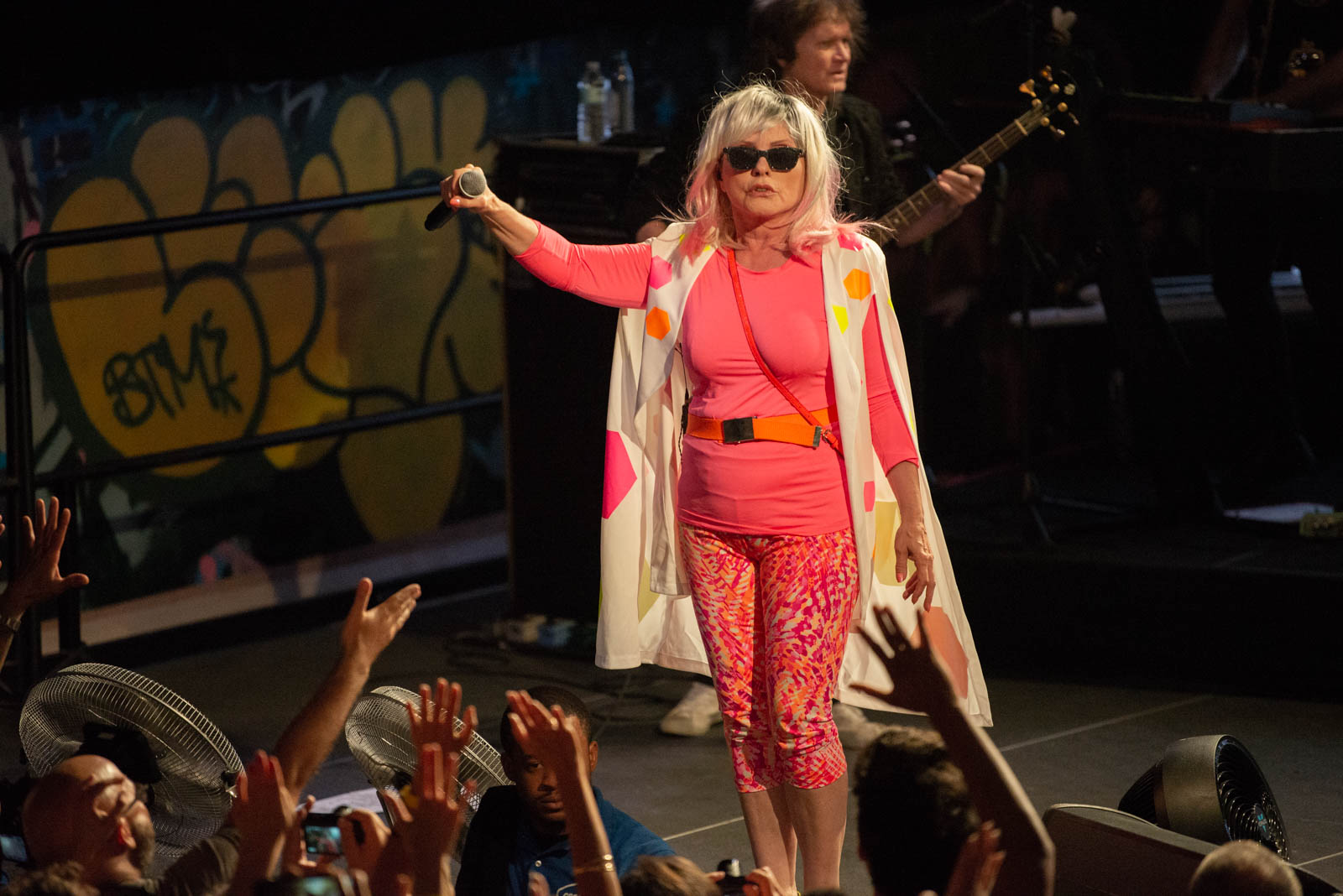 Blondie at House of Vans in Brooklyn, NY on Friday, July 20, 2018.