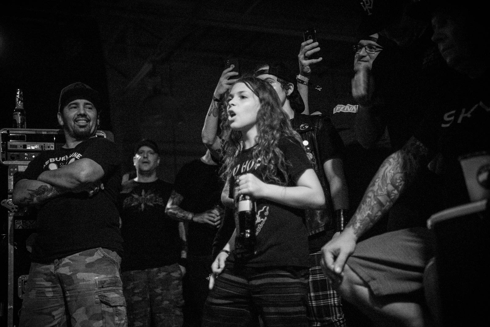 During Pennywise at House of Vans