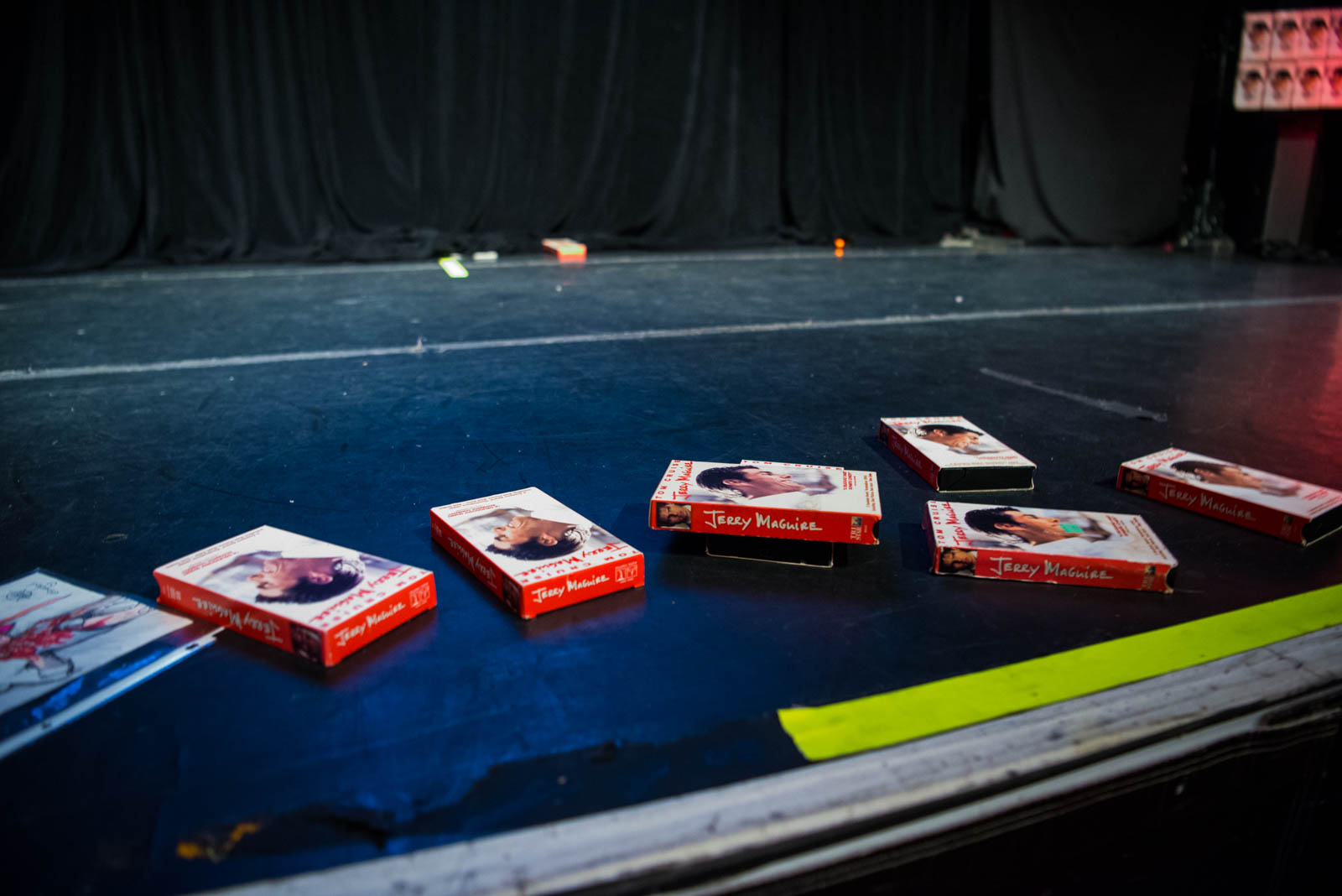Seven copies of  Jerry Maguire  given to The Great Satan at Gramercy Theatre on Wednesday, September 5, 2018.