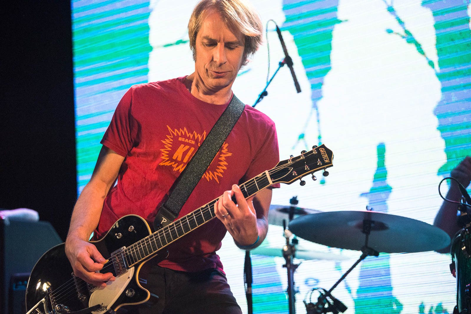 Mark Arm of Mudhoney performing at Warsaw on Saturday, October 18, 2018.