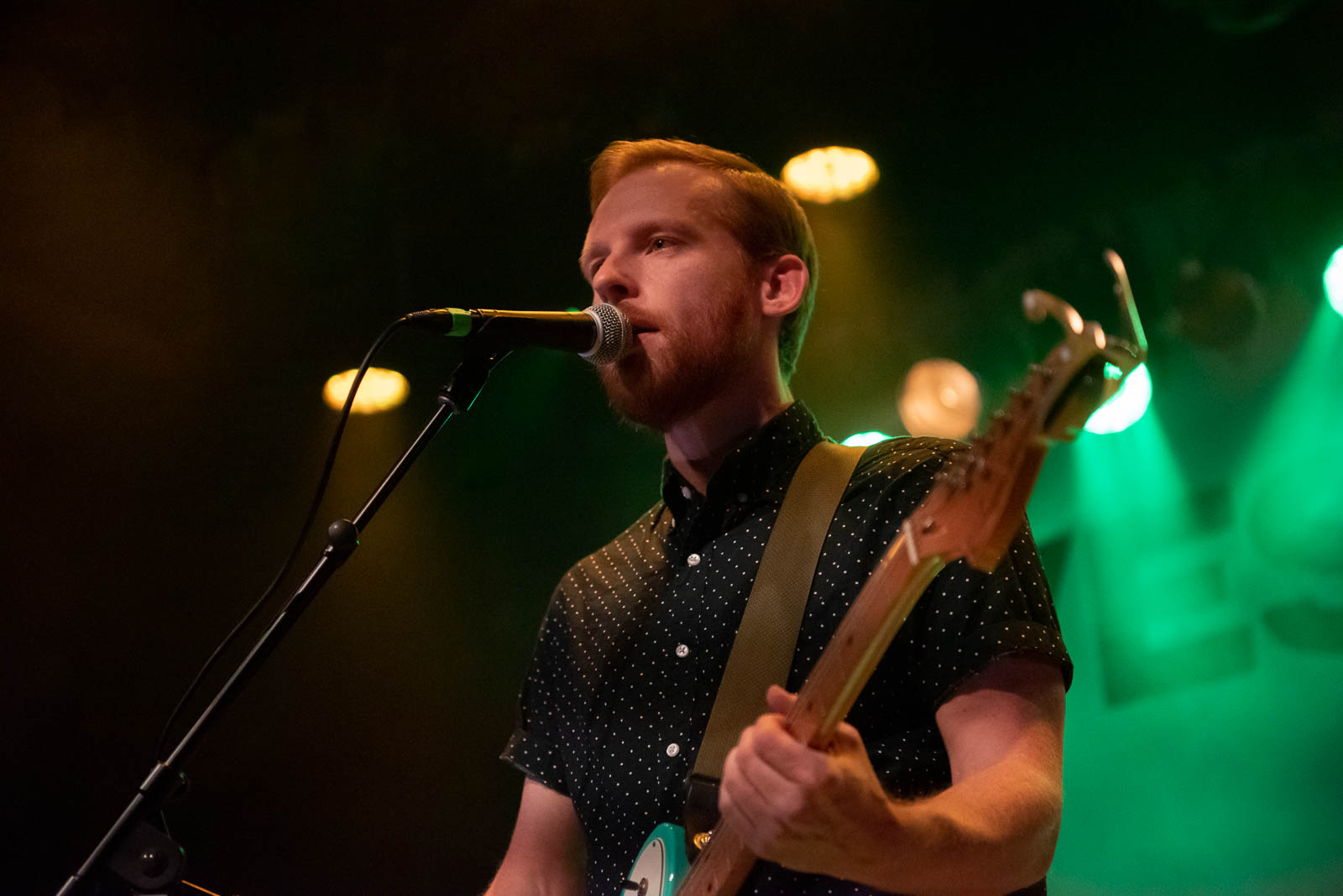Kevin Devine performs at Warsaw on Wednesday, November 14, 2018