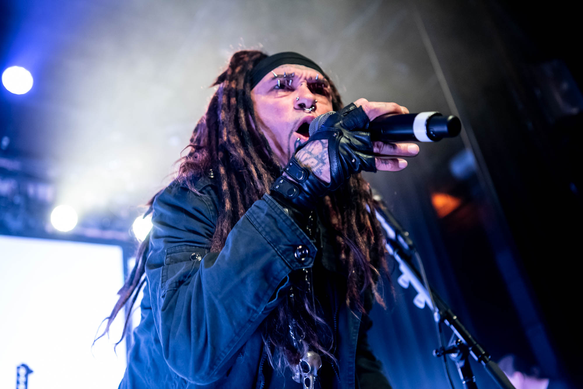 Ministry performing at Irving Plaza on Friday, December 7, 2018.