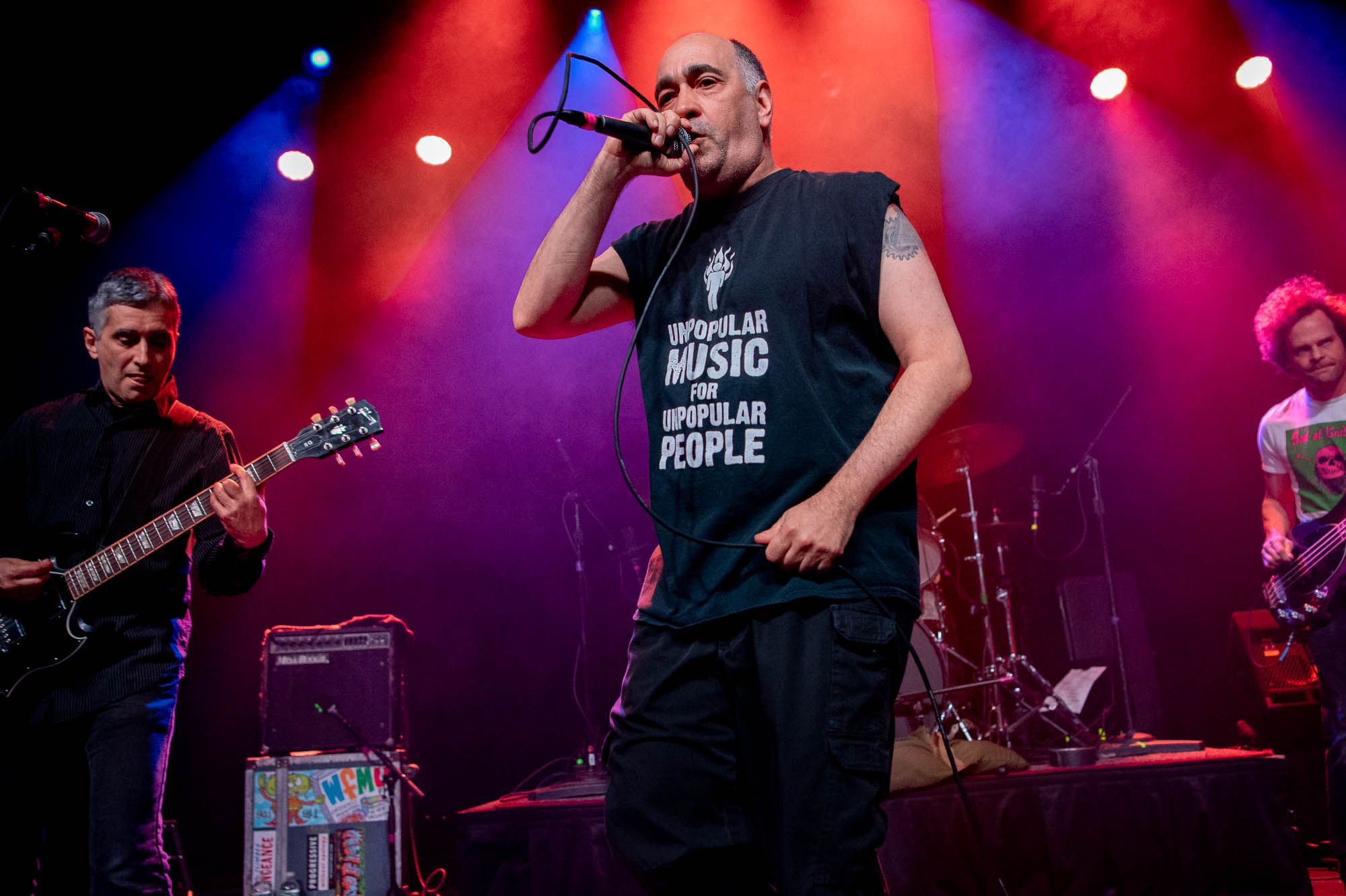 The Dead Milkmen performing at Irving Plaza on Saturday, December 15, 2018.