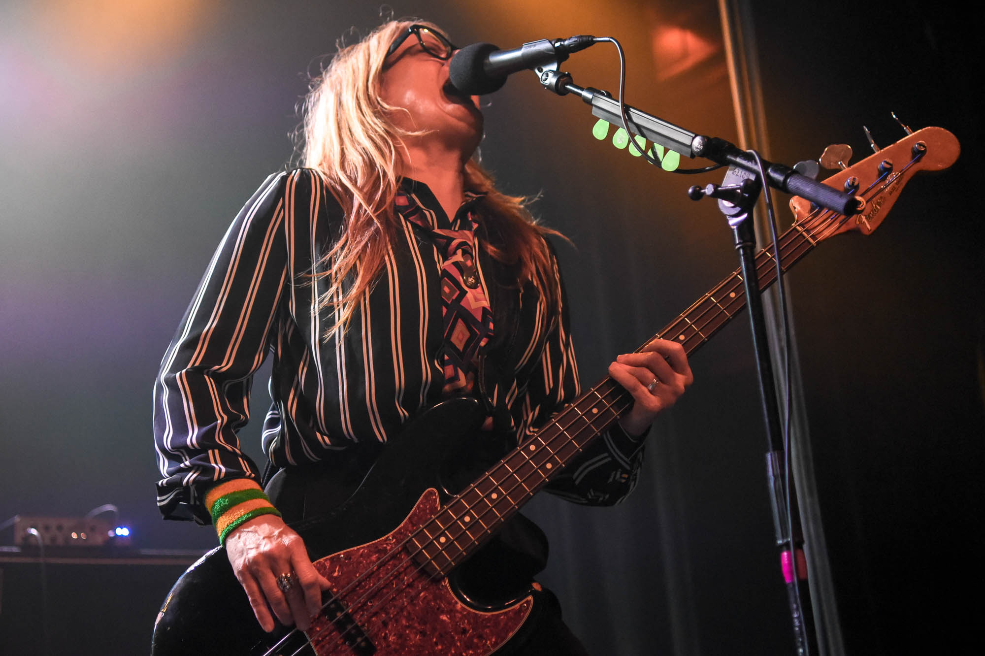 Noelle Felipe of Gibbous Moon performing at Irving Plaza on Saturday, December 15, 2018.