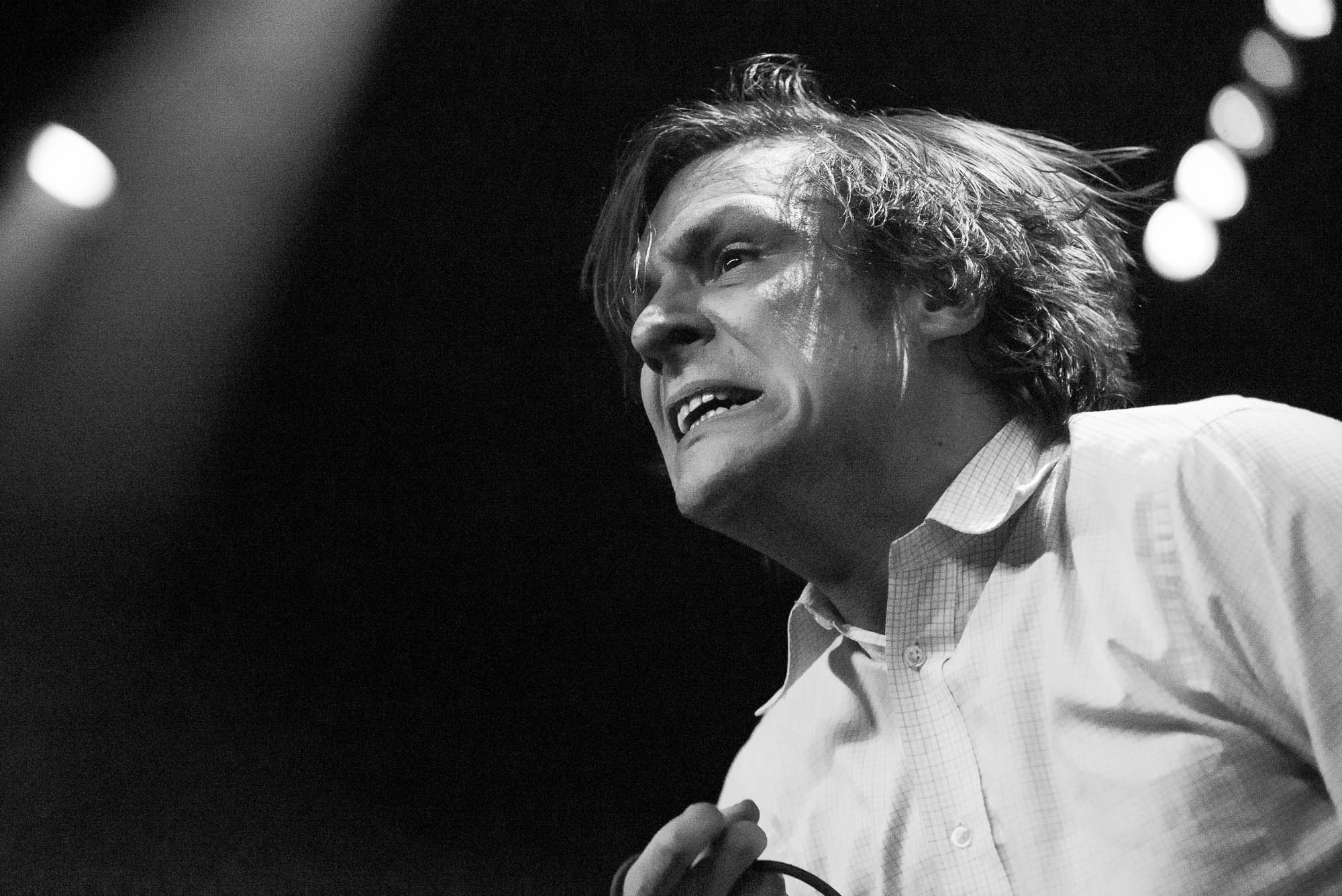 John Maus at Brooklyn Steel on Monday, February 4, 2019.