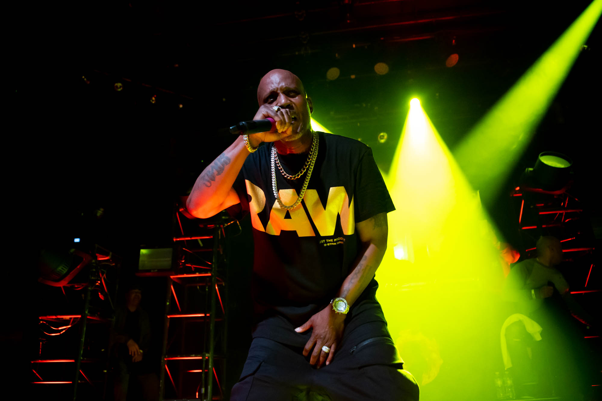 DMX performs at Irving Plaza on Monday, April 1, 2019.