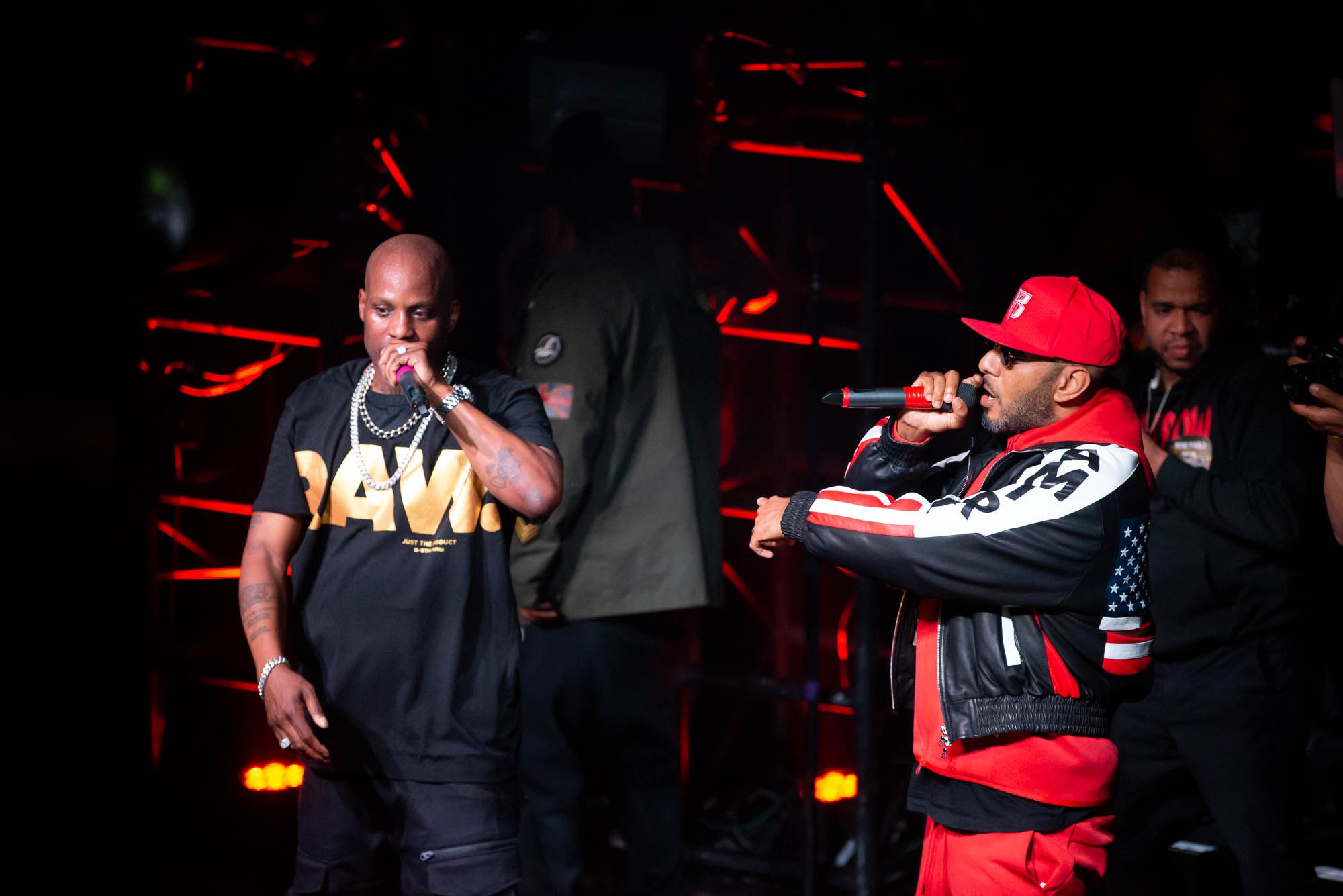 DMX joined by special guest Swizz Beatz at Irving Plaza on Monday, April 1, 2019.