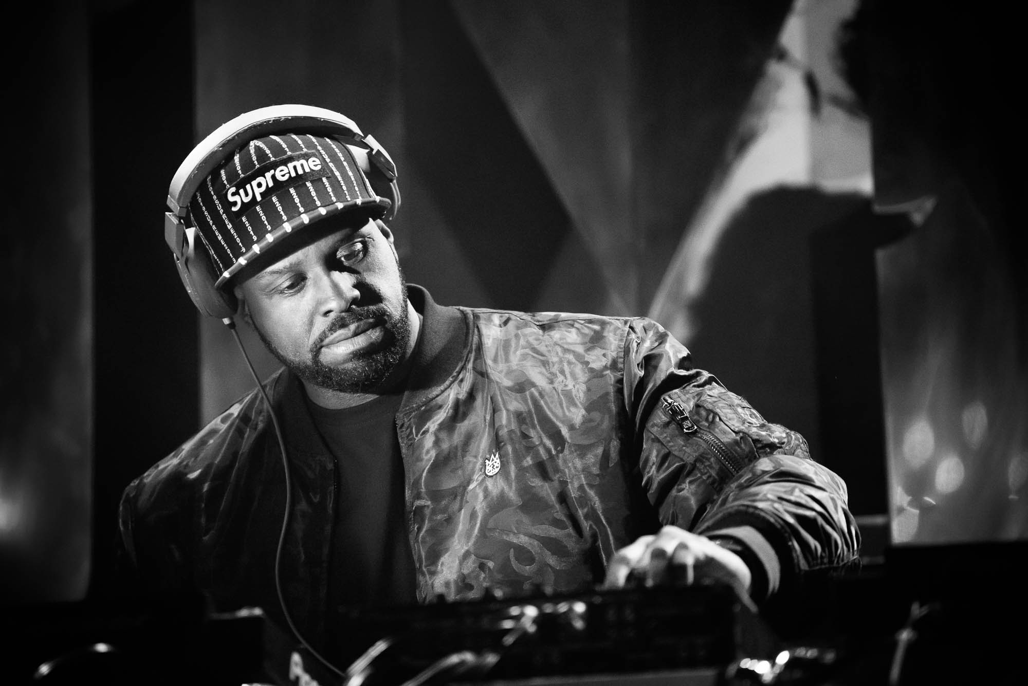 Funkmaster Flex performs a DJ set at Irving Plaza on Monday, April 1, 2019.