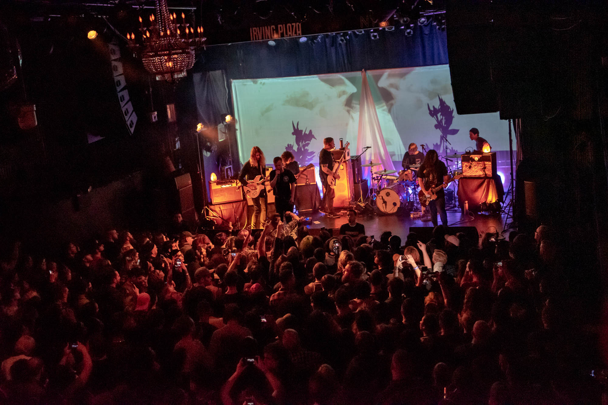 La Dispute at Irving Plaza on Wednesday, April 17, 2019.