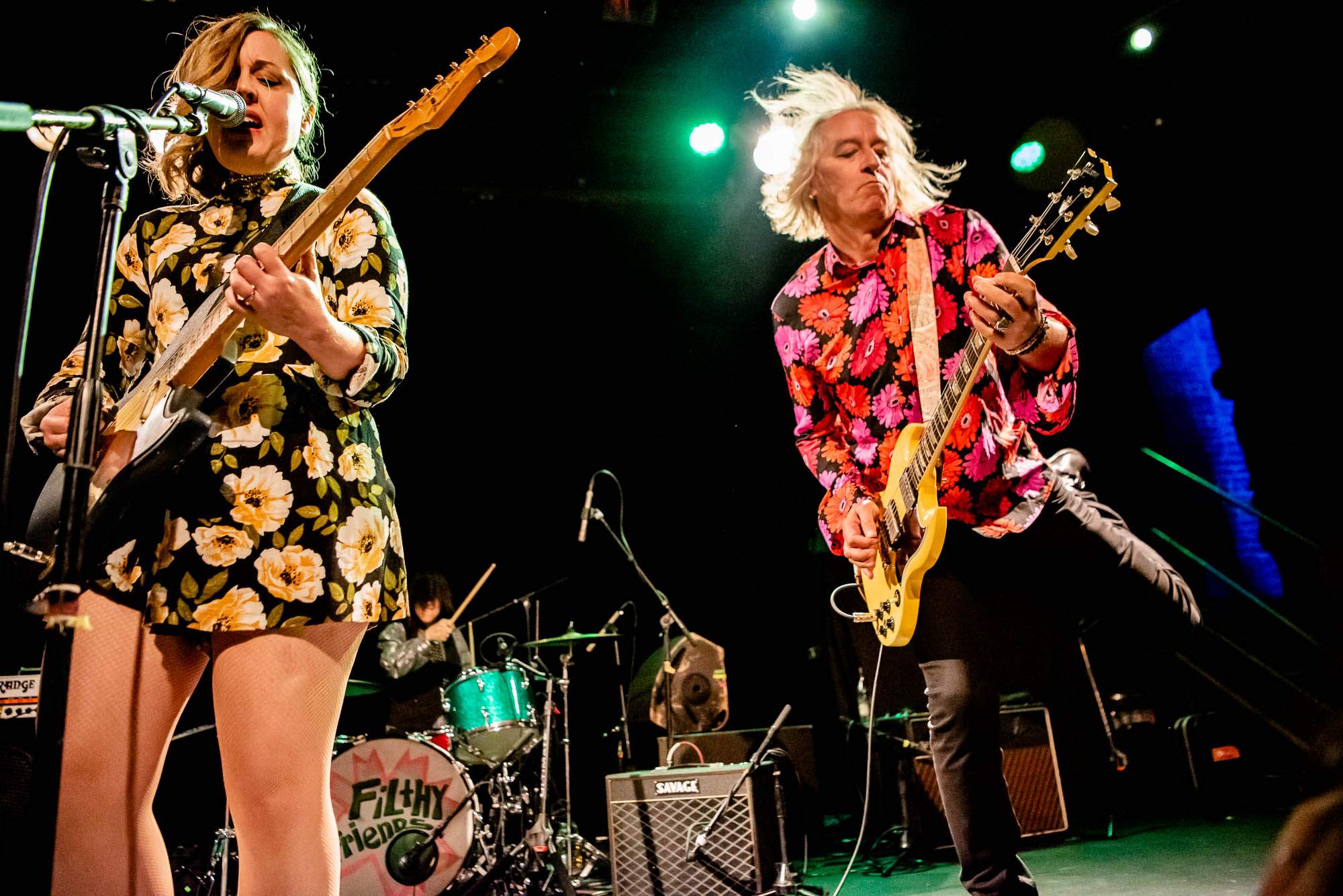Corin Tucker and Peter Buck of Filthy Friends on Friday, May 24, 2019 at Music Hall of Williamsburg.
