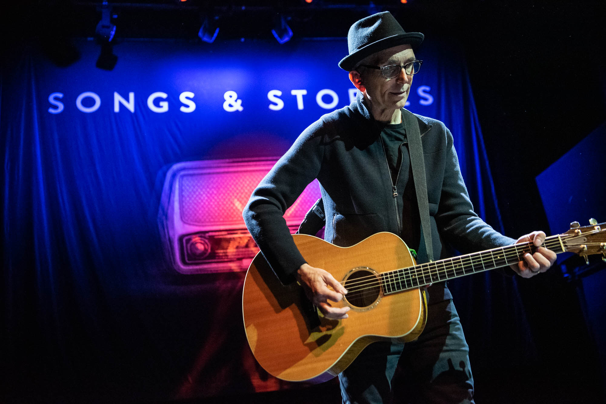 "Art Alexakis at Gramercy Theatre during ""Songs and Stories"" on Thursday, May 30, 2019."