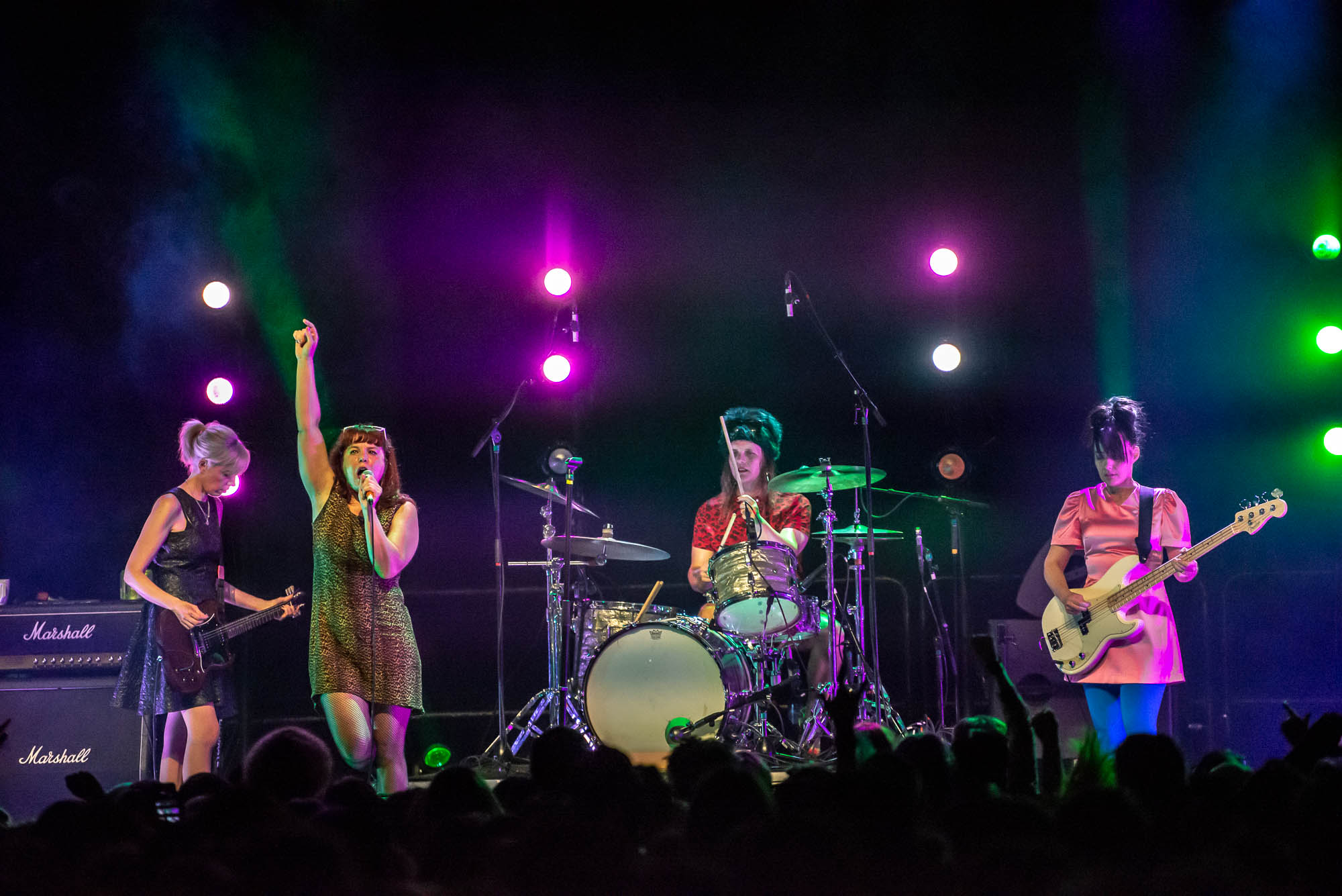 Bikini Kill at Brooklyn Steel on Friday, May 31, 2019.
