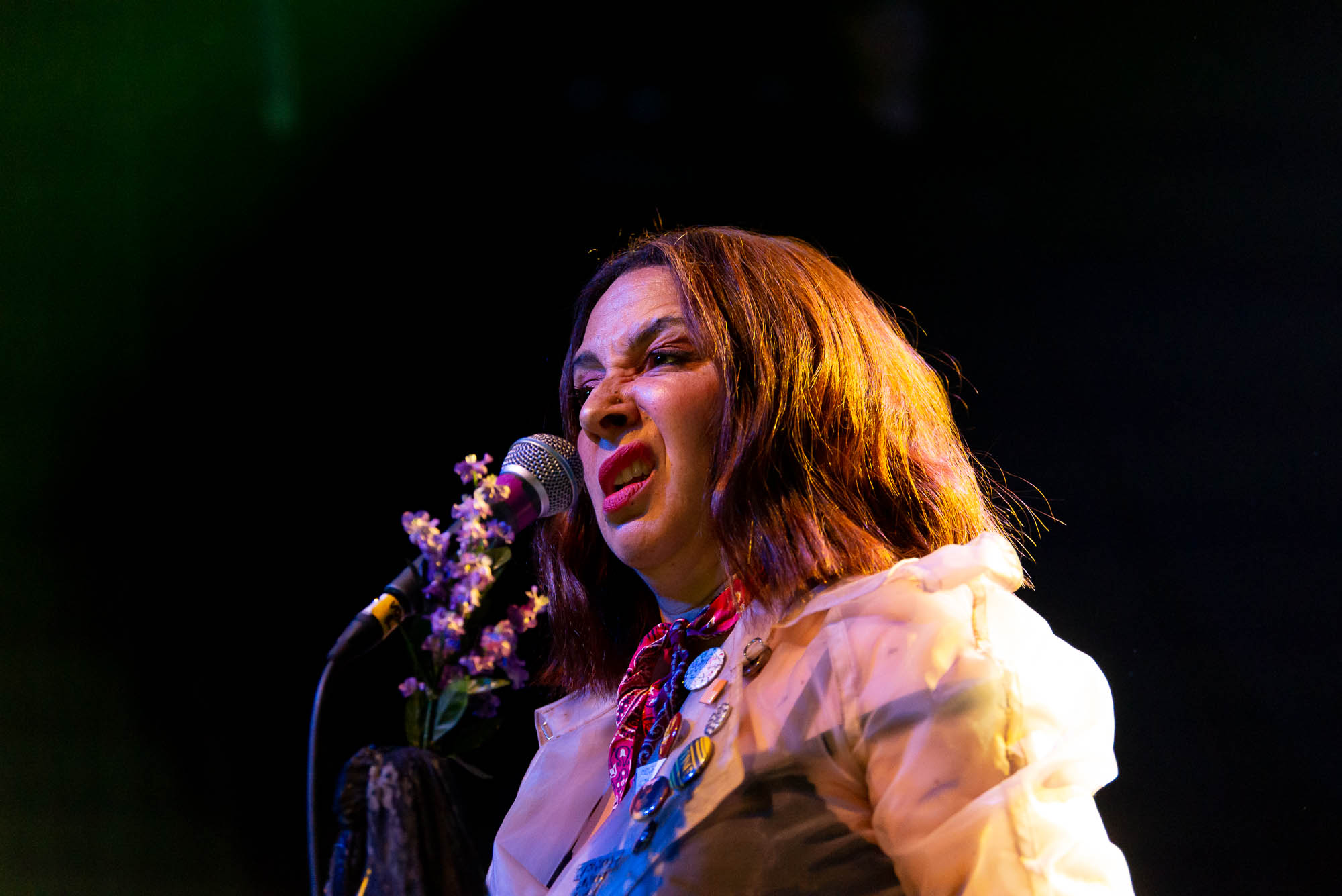 Maya Rudolph of Princess performing at Irving Plaza on Thursday, June 13, 2019.