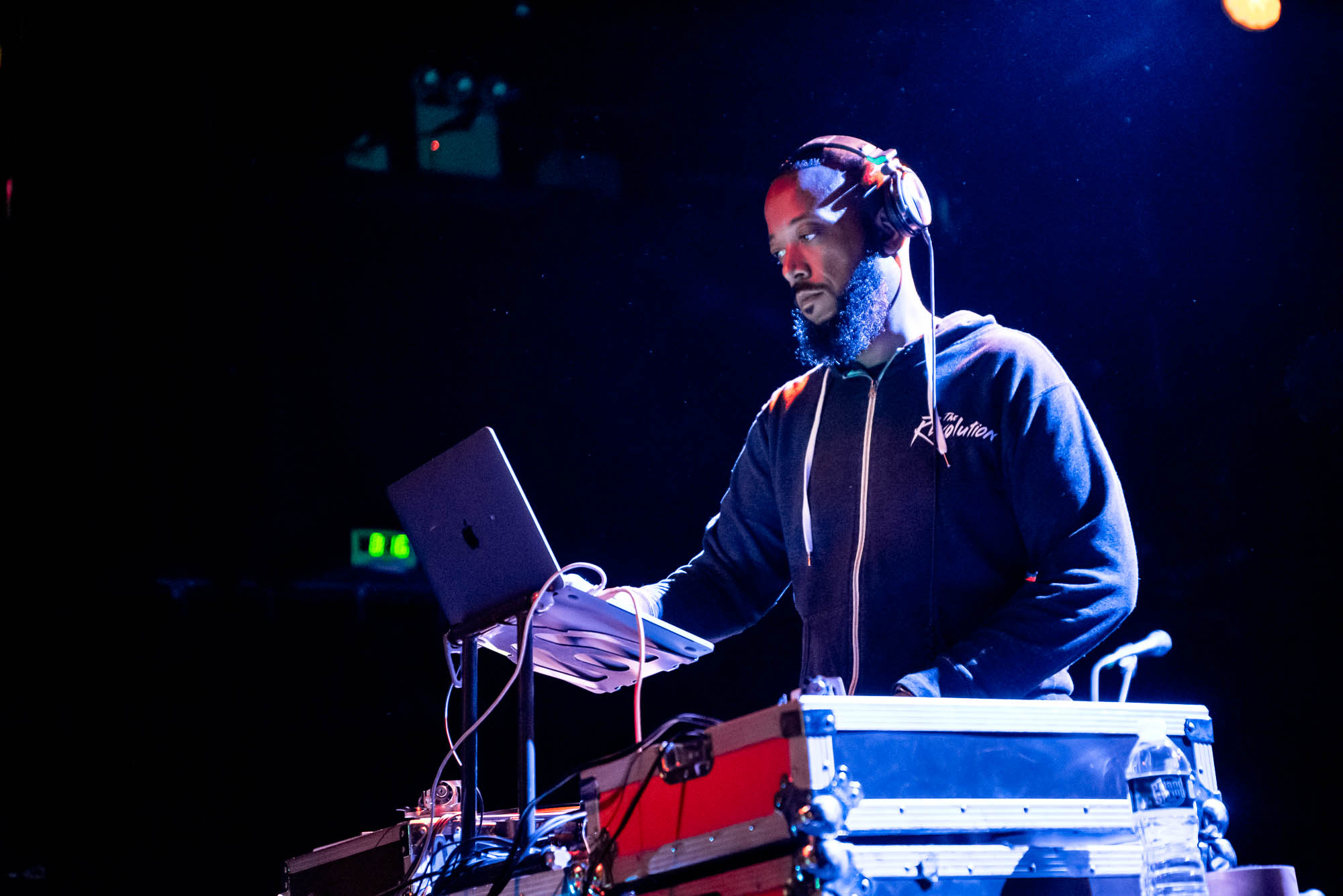 DJ Brainchild performs at Irving Plaza on Thursday, June 13, 2019.