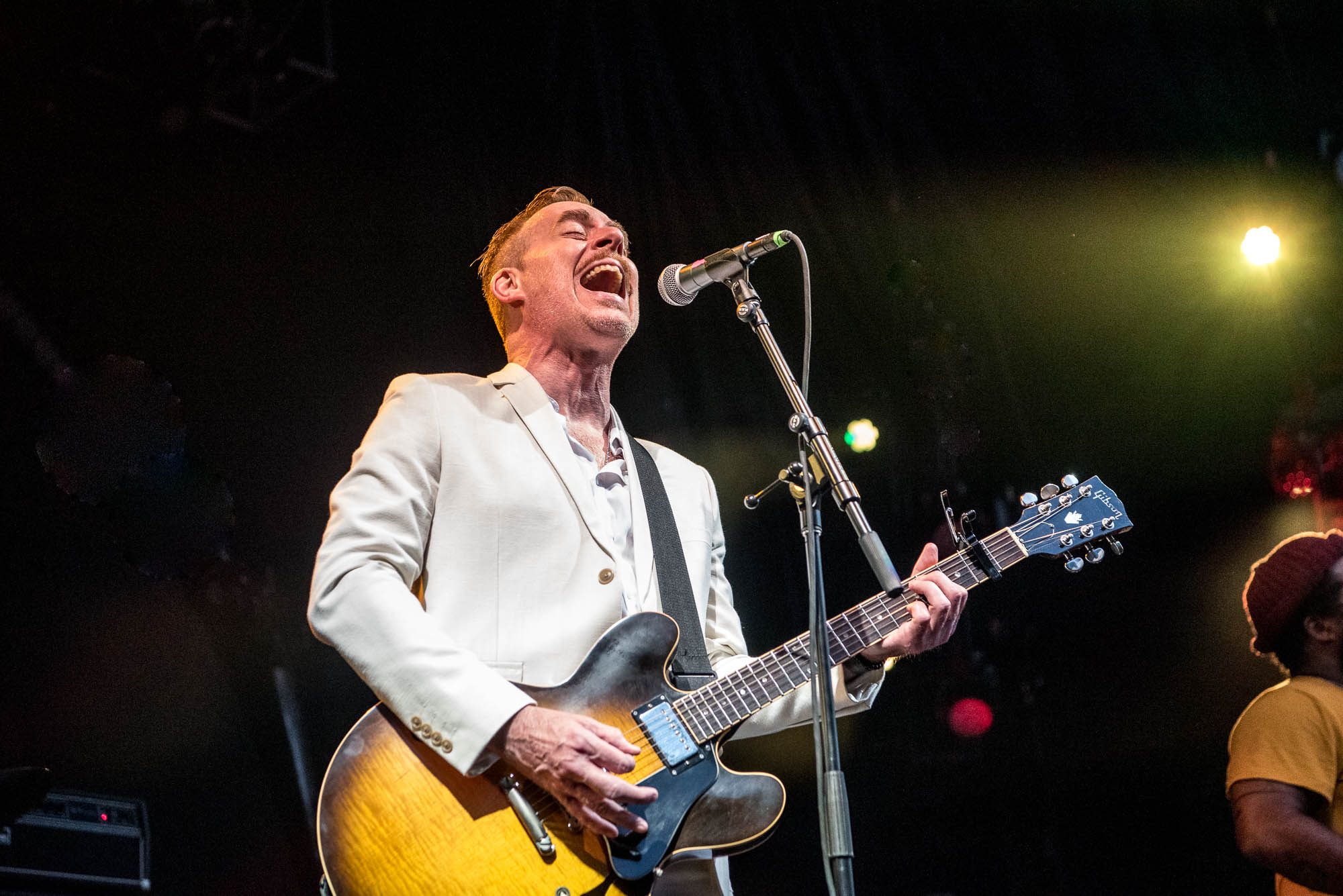 Ted Leo and the Pharmacists at BRIC Celebrate Brooklyn! at Prospect Park Bandshell on Saturday, June 29, 2019.