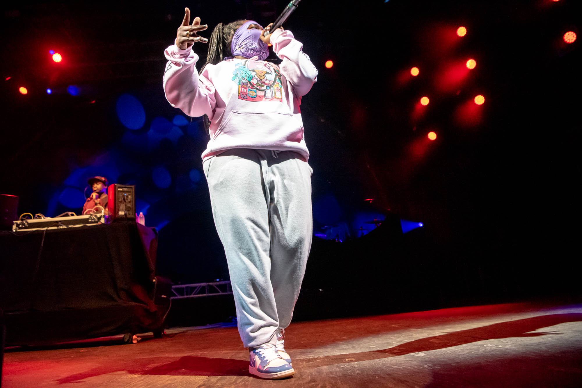 Leikeli47 at BRIC Celebrate Brooklyn! at Prospect Park Bandshell on Friday, July 5, 2019.
