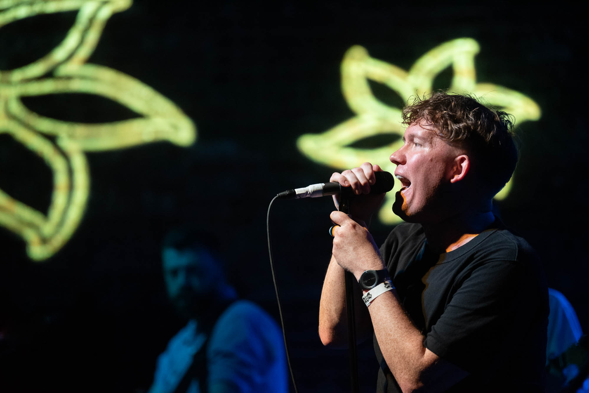Los Campesinos! at Brooklyn Bowl on Tuesday, July 9, 2019.