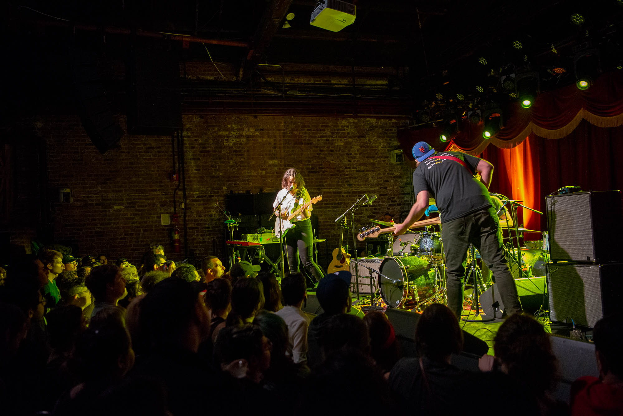 Nervous Dater at Brooklyn Bowl on Tuesday, July 9, 2019.