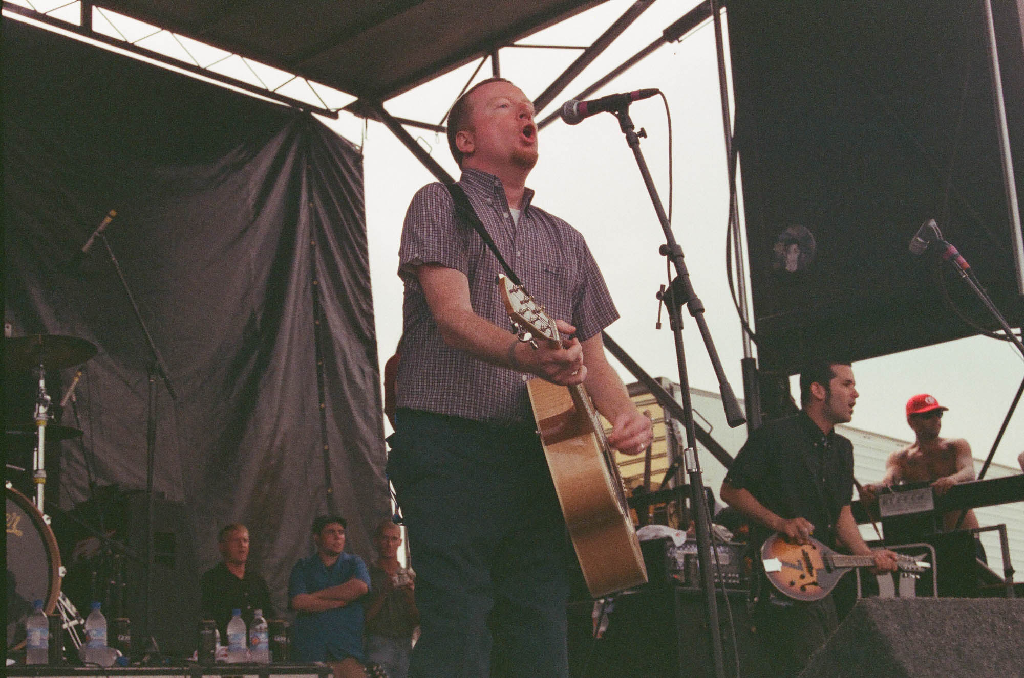 Flogging Molly at Warped Tour 2001