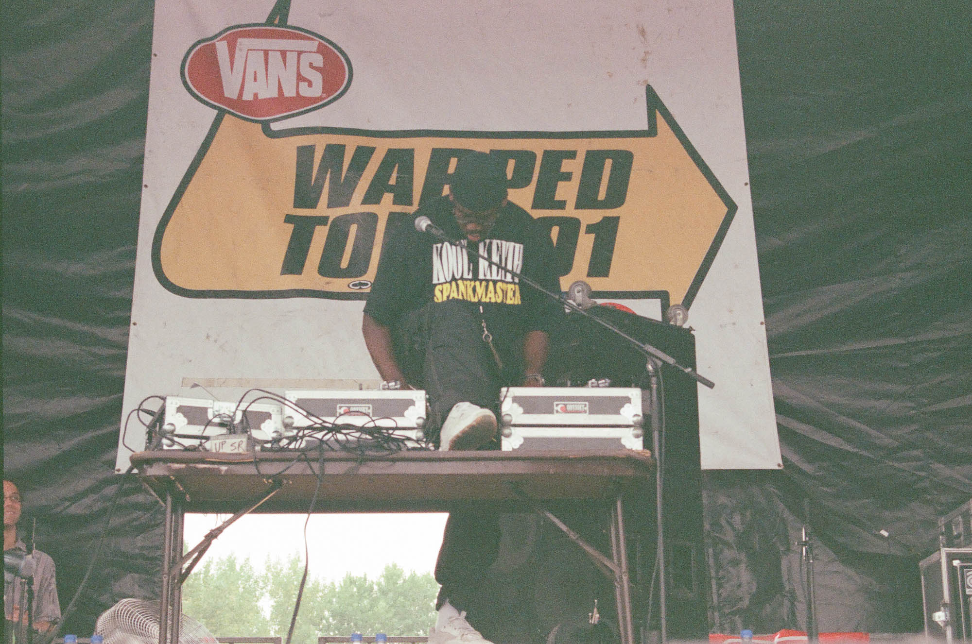 Kool Keith at Warped Tour 2001