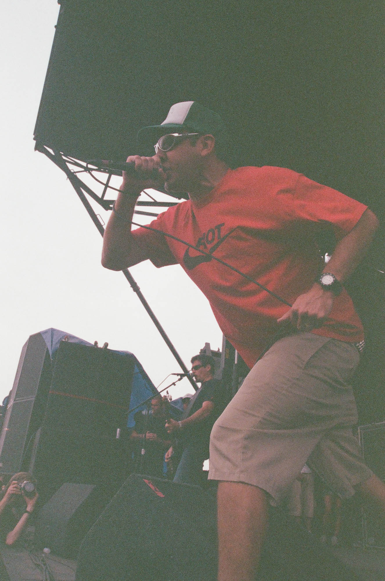 Pennywise at Warped Tour 2001